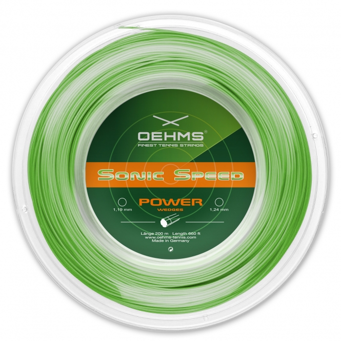 Tennissaite - Oehms Sonic Speed - 200 m 1,24 mm