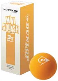 Squashball - Dunlop PLAY MINI ORANGE 3 Stk. 753140