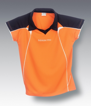 Signum Pro - Polo Shirt Tour (Woman) - orange/black
