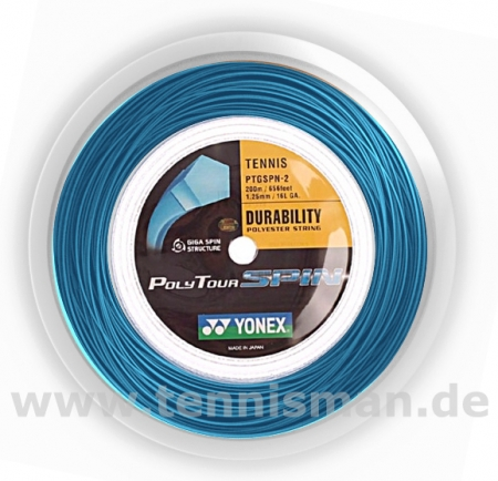 Tennissaite - Yonex Poly Tour Spin - 200m
