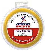 Tennissaite - DISCHO Poly Champ - 12 m