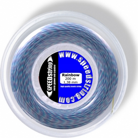 Tennissaite - SPEEDstring Rainbow - 200 m