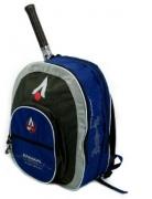 Rucksack- Karakal - Racket Backpack - grau/blau 59997