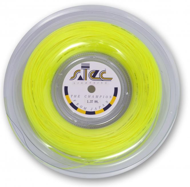 Tennissaite - sTec Lightning gelb - 200 m