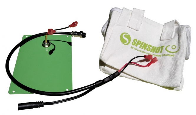 Externes Batterie Kit fĂĽr Spinshot Maschinen (ohne Batterie) spsh_exbat