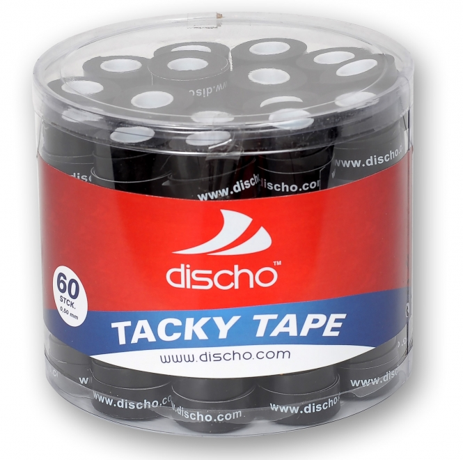 DISCHO - TACKY TAPE schwarz - 60er Box - 0,5 mm d20002s-60