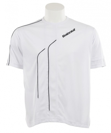 Babolat - T-Shirt Boy Club - weiß