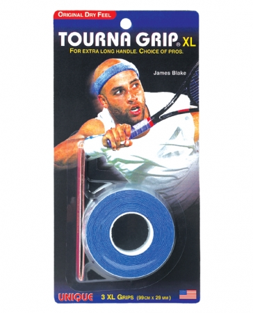 Unique - Tourna Grip Orginal XL (Extra Long) - Dry - 3er Packung