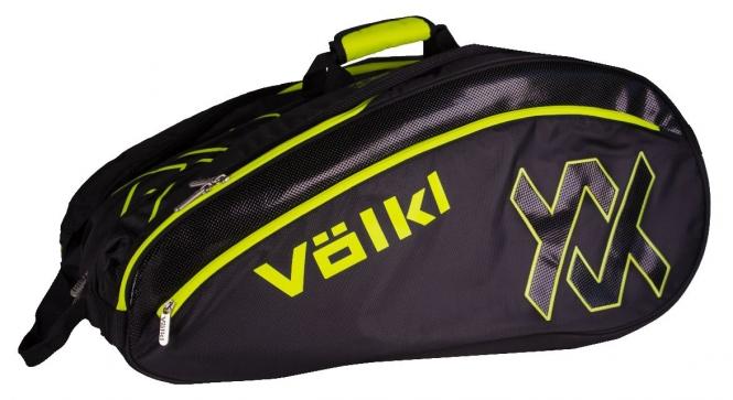Tennistasche - Völkl - TOUR MEGA - Black/Neon Yellow V78101