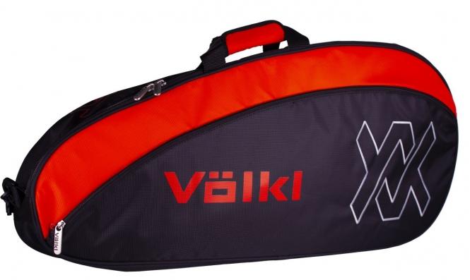 Tennistasche - Völkl - TEAM PRO - Black/Lava V78204