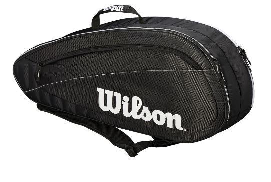 Tennistasche- Wilson -Fed Team 2018 6 Pack Tennis Bag WRZ834806