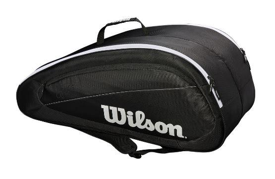 Tennistasche- Wilson - Fed Team 2018 12 Pack Tennis Bag WRZ834812