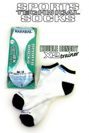 Karakal - X2 Trainer Socks -kurz 59514