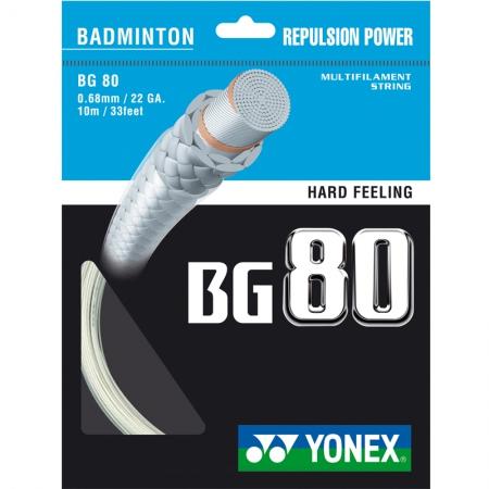 Badmintonsaite - Yonex BG 80, 10m y1003