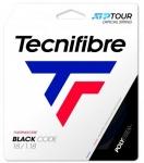 Tennissaite - Tecnifibre - BLACK CODE - 12 m - Schwarz