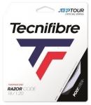 Tennissaite - Tecnifibre - RAZOR CODE - 12 m - Weiss