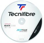 Tennissaite - Tecnifibre - BLACK CODE - 200 m - Schwarz