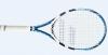 Tennisschläger- Babolat Drive Lite (blau/weiß) bespannt
