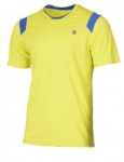 K-Swiss - PERFORMANCE CREW TEE - Neon Citron - MEN - 2018