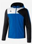 erima - PREMIUM ONE Trainingsjacke mit Kapuze blau/schwarz/weiß