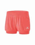 erima - Masters 2 in 1 Shorts Hot coral - Kids - 2018