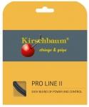 Tennissaite - Kirschbaum - PRO LINE II - 12 m - schwarz