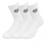 Bidi Badu -  Magu Crew Socks 3er Pack - Weiß