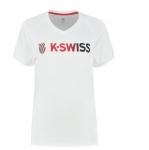 K-SWISS - HERITAGE SPORT LOGO TEE - Damen (2020)