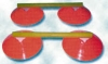 Minihürden - cone ladder - 12er Set - Hürdensystem
