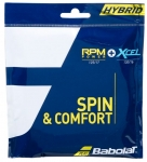 Tennissaite - Babolat - Hybrid RPM POWER 125 + XCEL 130
