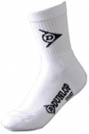 Dunlop - Ladies Crew Socks 3er Pack 4-8 white