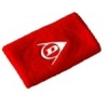 Dunlop Schweißband-breit-2er Pack, rot