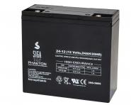 Spinfire Ersatzbatterie - 12V - 24 AH