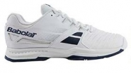 Tennisschuh - Babolat - SFX ALL COURT - MEN - White/Blue - 2018