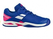 Tennisschuhe - PROPULSE ALL COURT JUNIORS - Princess Blue/Fandango Pink - 2018