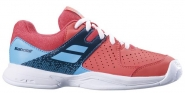 Tennisschuhe - PULSION ALL COURT JUNIORS - Pink/Sky Blue - 2019