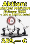 Bespannungsmaschine: DISCHO-Premium Stringer 3600 incl. 200m DISCHO IONTEC