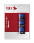 MSV Over Grip Cyber Wet, 3er Pack, blau