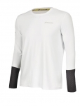 Babolat - CORE LS TEE - White/Rabbit - Men - 2018