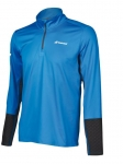 Babolat - CORE 1/2 ZIP - Diva Blue/Rabbit - Men