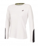 Babolat - CORE LS TEE - White/Rabbit - Women - 2018