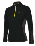 Babolat - Core 1/2 Zip - Black/Rabbit
