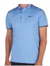 NIKE Hard Court UV Polo blau