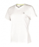 Dunlop- LADIES Club Line Crew Tee- weiß