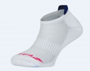 Babolat - Socken - INVISIBLE 2 PAIRS WOMEN - White/Estate Blue - 2018