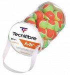 Tennisbälle - Tecnifibre - MINI Stage 2 (Beutel mit 36 Bällen)