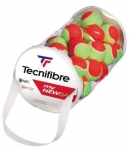 Tennisbälle - Tecnifibre - MY NEW BALL Stage 3 (Polybag mit 36 Bällen)