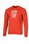 Dunlop - Round Neck Sweat Red - Unisex