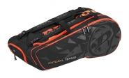 Dunlop - NT 12 Racket Bag - schwarz-rot - 2019