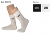 Wilson Premium Golf/Tennis Socken - Crew Mens (2 Paar)